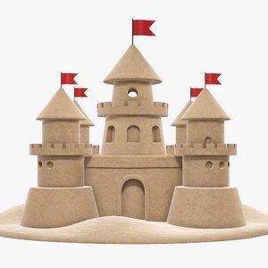 castle sand 3D