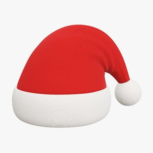christmas hat claus model