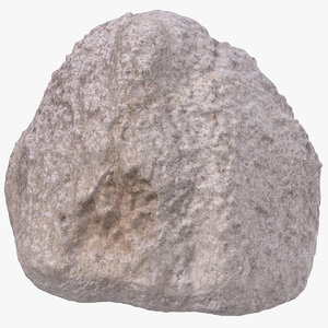 ancient rhyolite rock 03 3D model