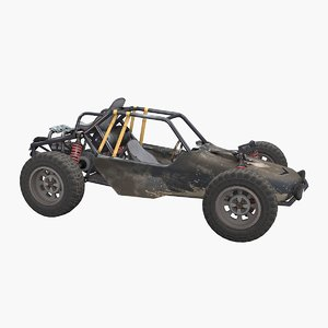buggy vehicle car 3D