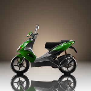 3D vehicles motorcycle model