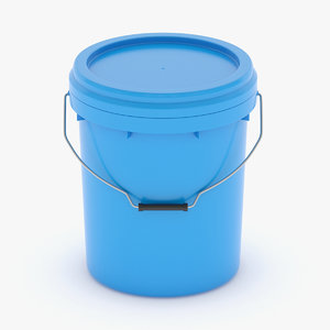 bucket plastic model