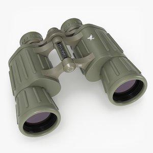 swarowski habicht 10x40 binoculars 3D model