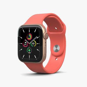 apple watch 44mm 3D model