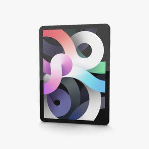 apple 2020 ipad 3D