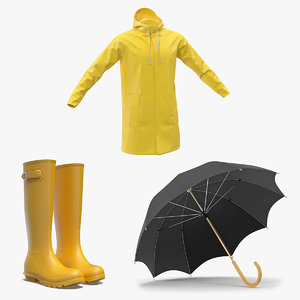 3D rain protection