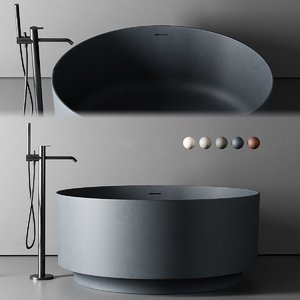 freestanding bathtub 3D model