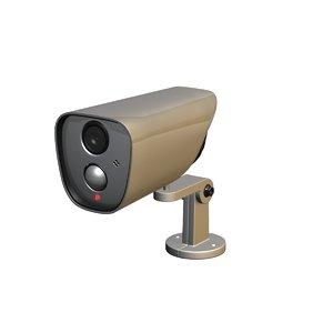 3D model camera wall mount