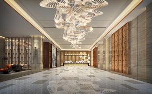 lobby interiors model
