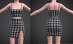 3D model fashion clothing shirt