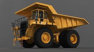 offhighway truck hq heavy 3D model