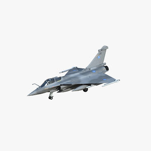 3D rafale c greek air force model