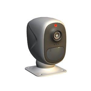 3D camera wall mount model