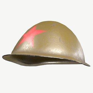 soviet helmet 3D model