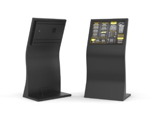 information kiosk 3D model