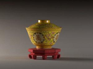 tea sets ancient artifacts model