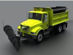 3D plows construction trucks sanitation