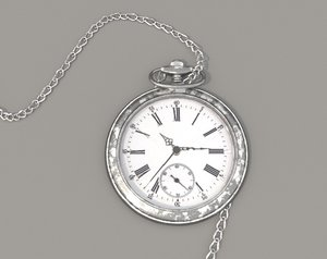 pocket watch chain model