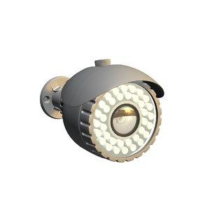 3D bullet camera model