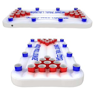 inflatable pong table pool 3D