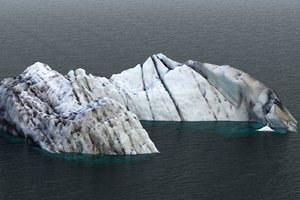 real iceberg scan 3D
