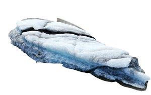 3D real iceberg scan