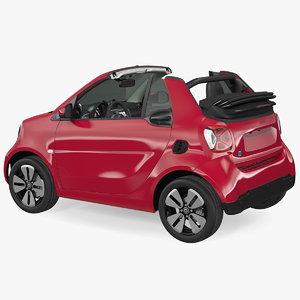smart eq cabrio 3D model
