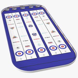 arena curling championships 3D
