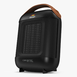 3D delonghi hfx30c18iw ceramic heater