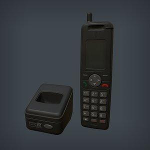 wireless phone base 3D model