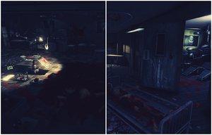 3D horror hospital