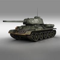 T-34-85 - Soviet medium tank - 3183