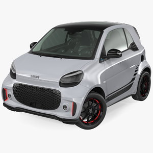 3D smart eq fortwo coupe