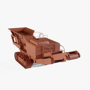 3D conveyor industrial