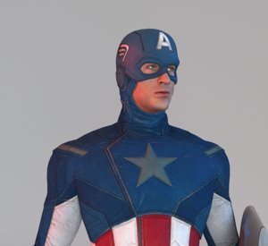 captain avenger model