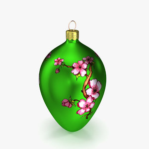 christmas decoration model