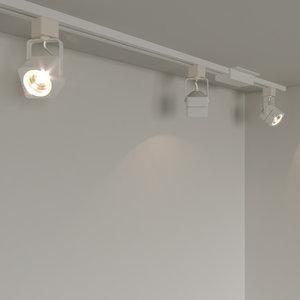 3D spot ceiling light