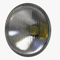 Round Sealed Low Beam Headlight