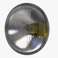 Round Sealed Low Beam Headlight