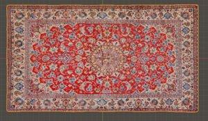 3D model persian carpet