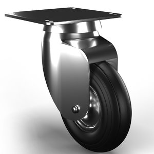 3D rubber wheel