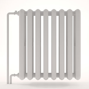 heating radiator c 3D model