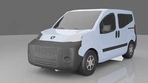 van vehicle auto 3D model