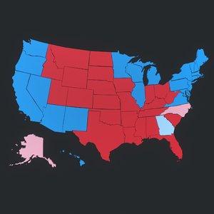 3D maps election 2020