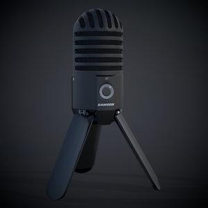 3D microphone samson meteor
