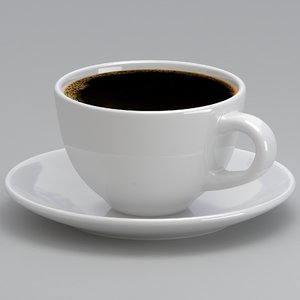 coffee mug 2 3D model
