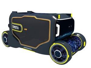 autonomous vehicle 3D model