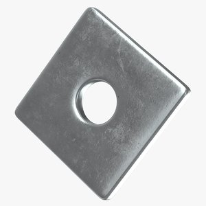 square washer 3D model