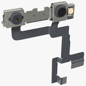 3D smartphone double camera module