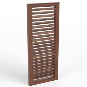 3ds louver window blind